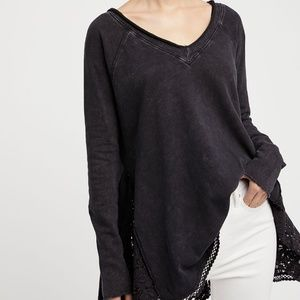 NWOT Free People No Frills Pullover Sweater